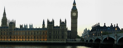 London - Palace of Westminster/Houses of Parliament